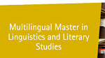 VUB start with multilingual master language and literature